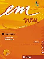 Em neu 2008 HauptkursKursbuch + Arbeitsbuch Lektion 6-10 mit Arbeitsbuch AudioCD