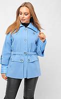Женская голубая куртка демисезон, фото 1