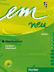 Em neu 2008 Abschlusskurs Kursbuch + Arbeitsbuch Lektion 1–5 mit Arbeitsbuch AudioCD
