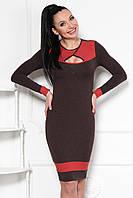 Модное ангоровое платье, фото 1