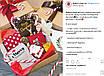Коробка подарочная из крафт картона, 200х200х70 мм., фото 5