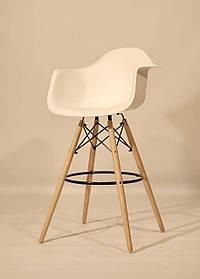 Полубарное кресло Leon, белое