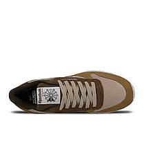 Женские кроссовки Reebok x Montana Cans Classic Leather Brown CM9610, оригинал, фото 2