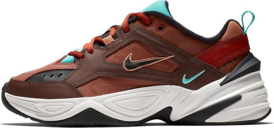 """Женские кроссовки в стиле Nike M2K Tekno """"Tekno/Dark/Brown/Turquoise """""""