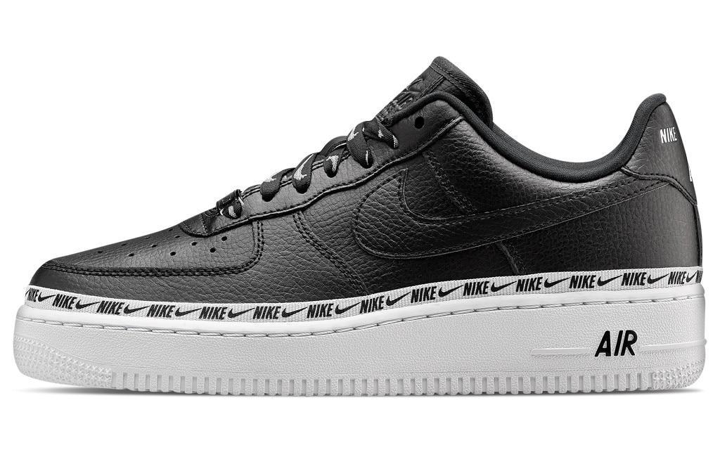 """Женские кроссовки в стиле Nike Air Force 1 """"Black/White"""" 07 SE Premium"""