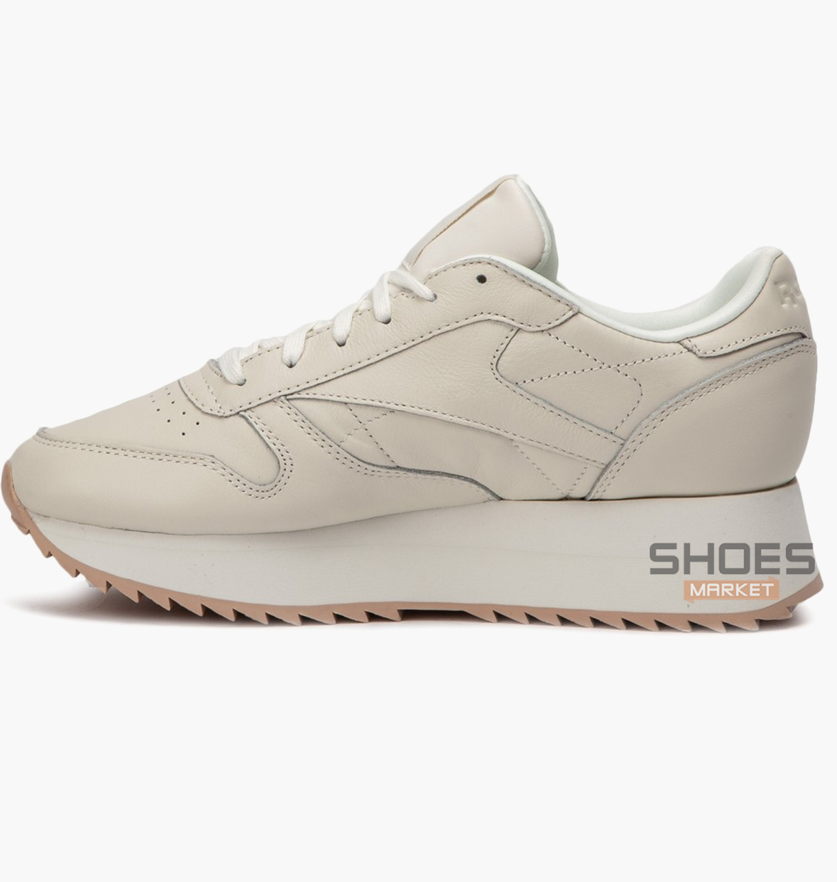 7115de97ffb Женские кроссовки Reebok Classic Leather Double Beige CN5491 ...