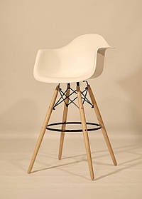Барное кресло Leon, белое