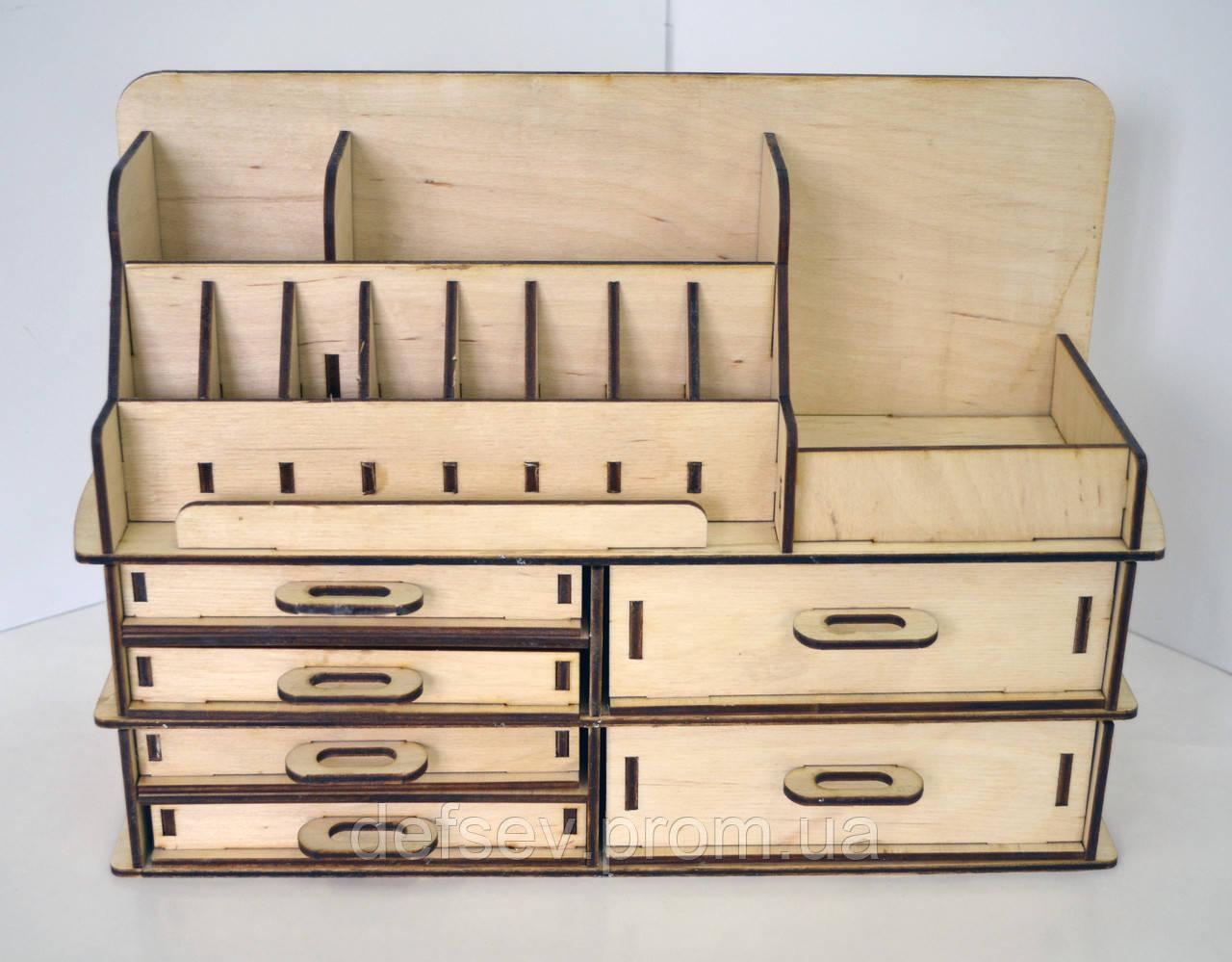 Деревянный органайзер для косметики купить в спб невская косметика купить киев