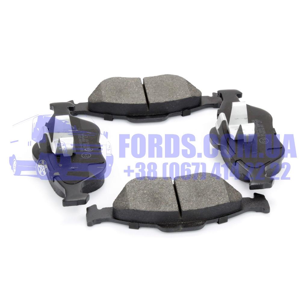 Колодки тормозные передние FORD FIESTA/FUSION 2001-2012 (1521328/TAMT2K021FSTL/C1G038ABE) ABE