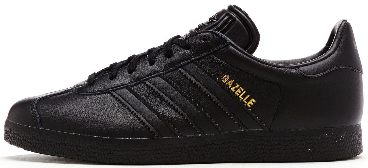 """Мужские кроссовки Adidas Gazelle """"Black""""(в стиле Адидас)"""