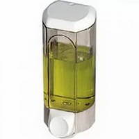 Дозатор жидкого мыла, пластик прозрачный 0,8л acqualba a56201