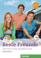 Beste Freunde B1/1 Arbeitsbuch mit Audio-CD