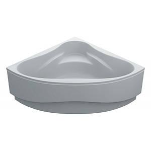 Ванна 140х140 акрилова MILANA + панель + ніжки