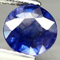 2.23 кт Природний синій сапфір коло 7.7 мм, фото 1