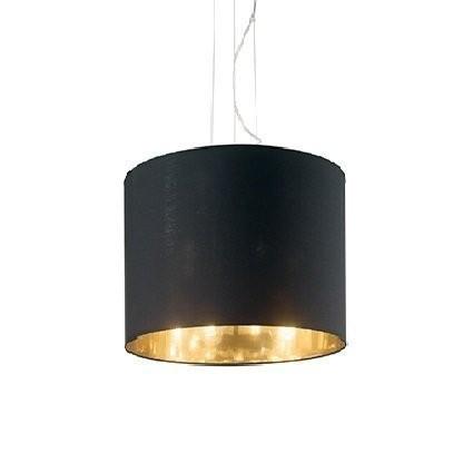 Подвесной светильник Ideal Lux WHEEL SP3 NERO E ORO (158631)