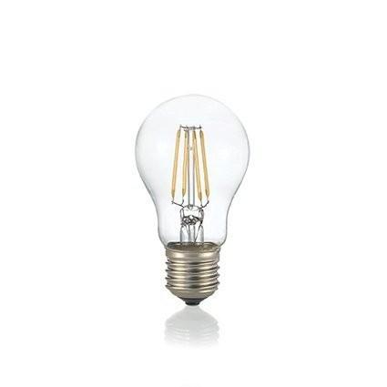 Светодиодная лампа Ideal Lux LED CLASSIC E27 8W GOCCIA TRASPARENTE 4000K (153964)