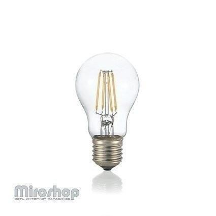 Светодиодная лампа Ideal Lux LAMPADINA LED E27 8W GOCCIA BIANCO (123899)
