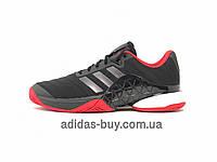 Кроссовки мужские оригинальные adidas для тенниса BARRICADE 2018 BOOST CM7829 цвет: черный