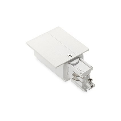 Разъем Ideal Lux LINK TRIM MAINS CONNECTOR LEFT WHITE (188072)