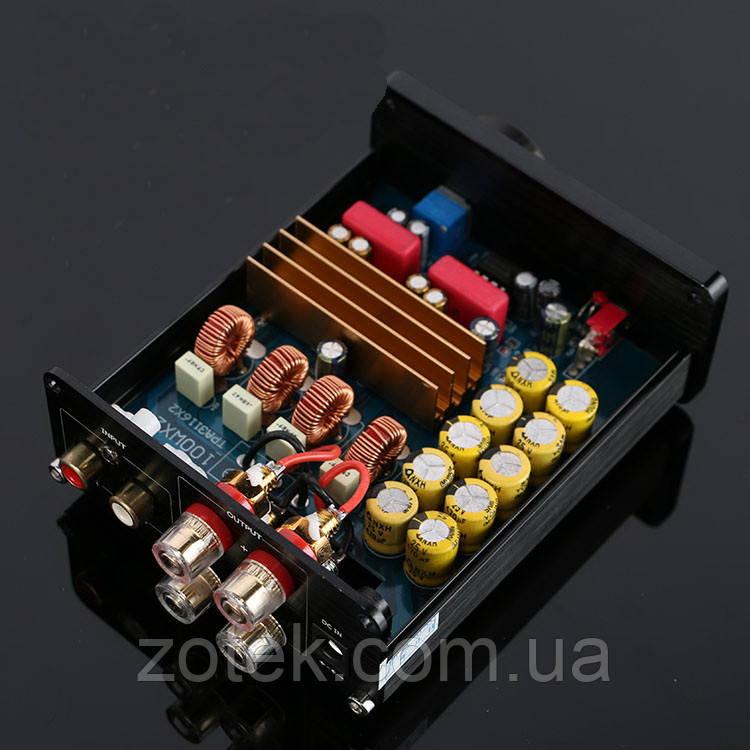 Усилитель звука аудио TPA3116D2 х2 100Вт+100Вт 2.0 DC 12-24В