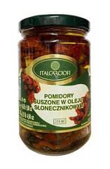 Вяленые помидоры томаты в масле Italcarciofi Италия 314 мл