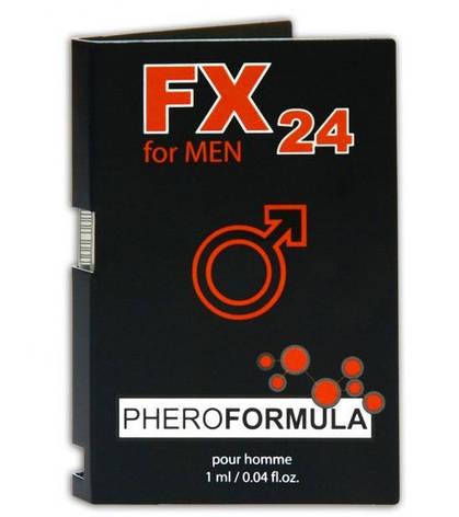 Пробник духов FX24 Pheroformula for men, 1 мл, фото 2