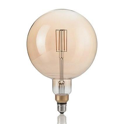 Светодиодная лампа Ideal Lux LAMPADINA VINTAGE XL E27 4W GLOBO BIG (130187)