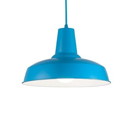 Подвесной светильник Ideal Lux MOBY SP1 AZZURRO (160825)