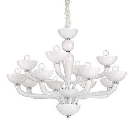 Люстра Ideal Lux CASANOVA SP12 BIANCO (094052)