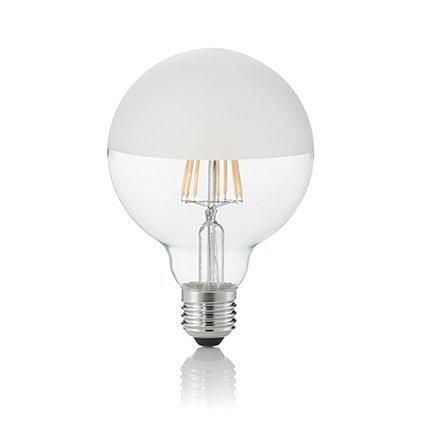 Светодиодная лампа Ideal Lux LED CLASSIC E27 8W GLOBO D95 SATINATA 3000K (157597)