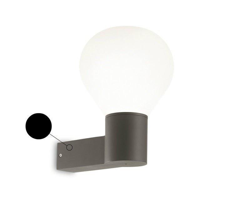 Настенный светильник Ideal Lux CLIO AP1 NERO (146614)