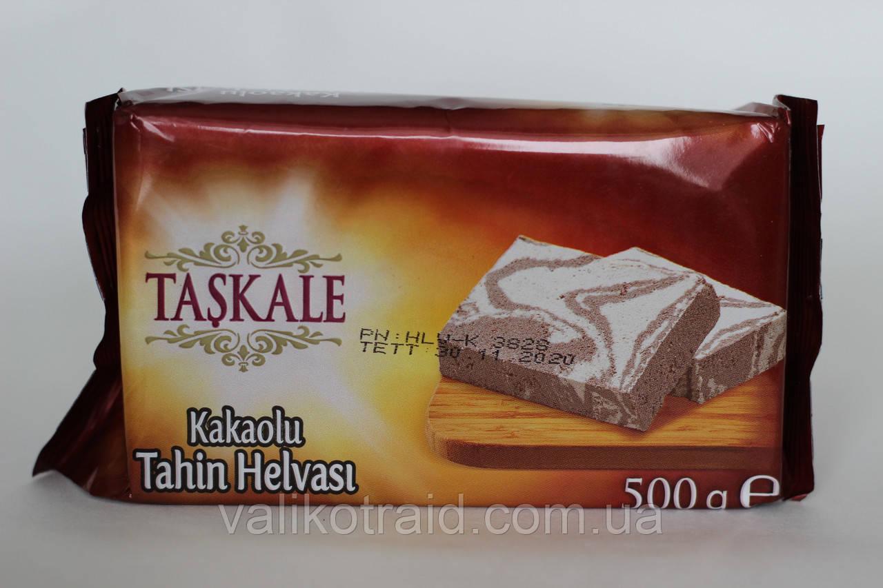 Кунжутна халва какао - ваніль , Туреччина, 500 гр ,придатний до 20.11.2020 турецькі солодощі
