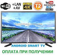 Телевизор Domotec 40 40LN4100 DVB-T2 Ultra HD 4K Smart TV WiFi USB HDMI TF CARD VGA ANDROID RAM-1GB MEM-8GB, фото 1