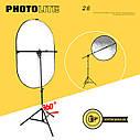 Универсальный держатель для отражателей PHOTOLITE + стойка 2,6 метра., фото 3