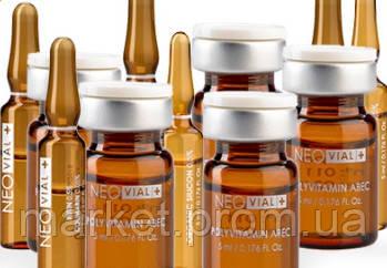 Комплекс мезопрепаратов для чувствительной кожи с куперозом NEOVIAL