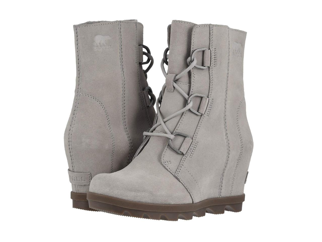 5311067cd0e Туфли на каблуке (Оригинал) SOREL Joan of Arctic™ Wedge II Dove - TopUSA