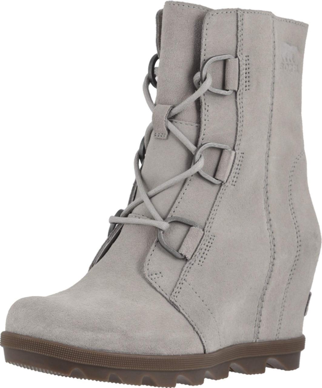 05b1f863202 Туфли на каблуке (Оригинал) SOREL Joan of Arctic™ Wedge II Dove ...