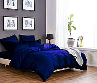 Комплект постельного белья из элитного сатина Синее море