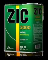 Моторное масло ZIC 5000 5W-30 ✔ 1л.