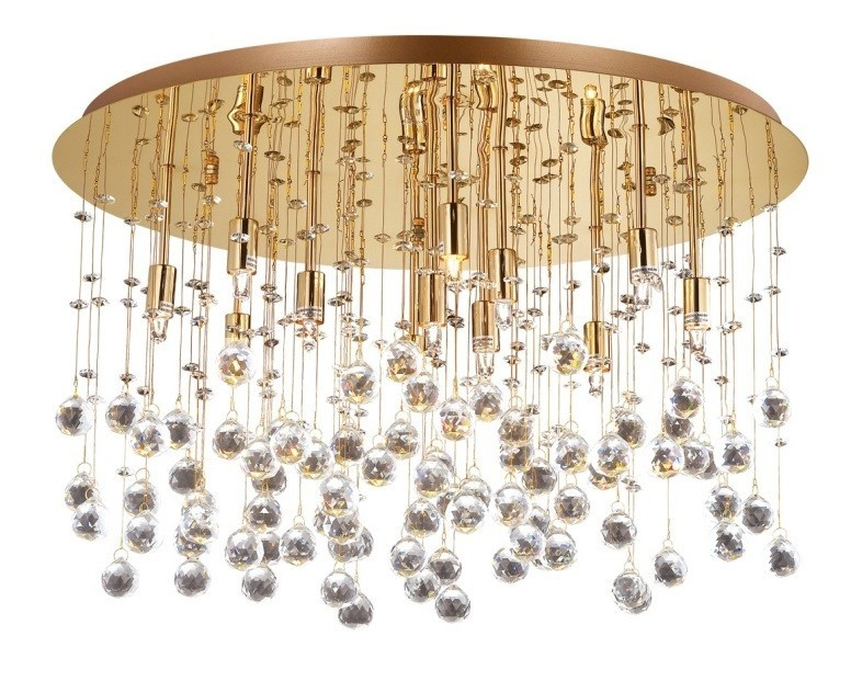 Люстра Ideal Lux MOONLIGHT PL12 ORO (082783)