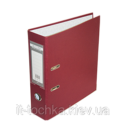 Регистратор односторонний А4 jobmax, ширина торца 50мм, бордовый bm.3012-13c
