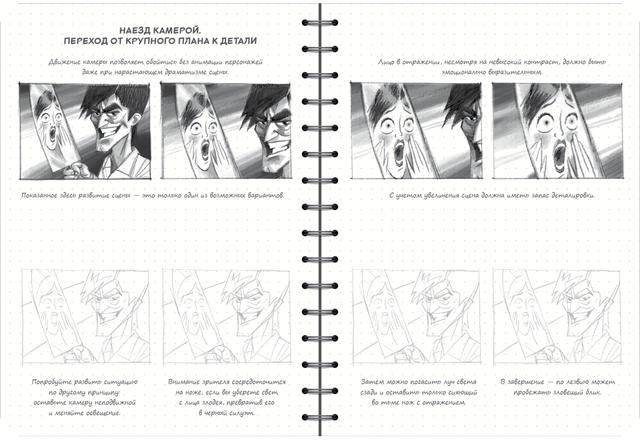 скетчбук аніматора мультиплікатора - від крупного плану до деталей