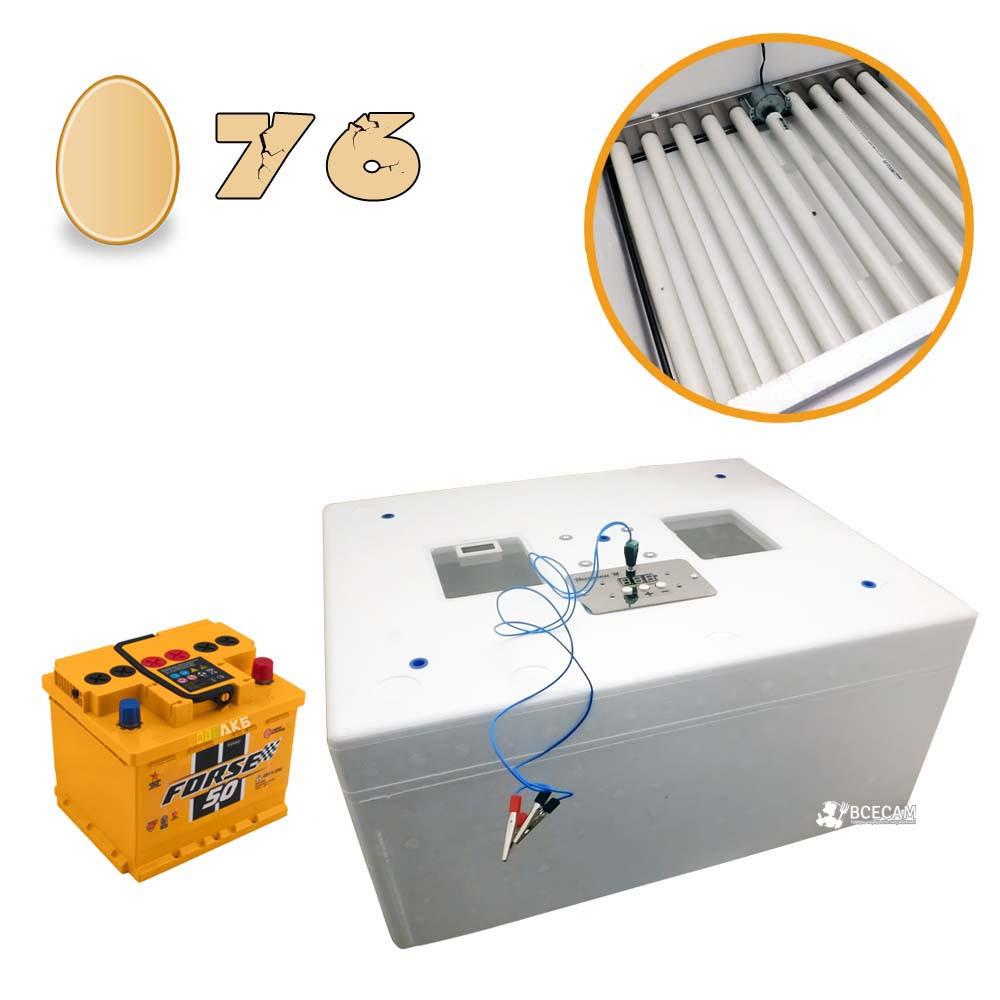 Бытовой автоматический инкубатор «Несушка-М 76» экспортный вариант