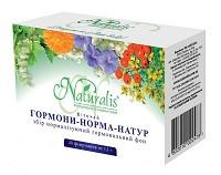 Фиточай Гормоны-норма-Натур (Натуралис)– нарушение менструального цикла, болезни щит. железы