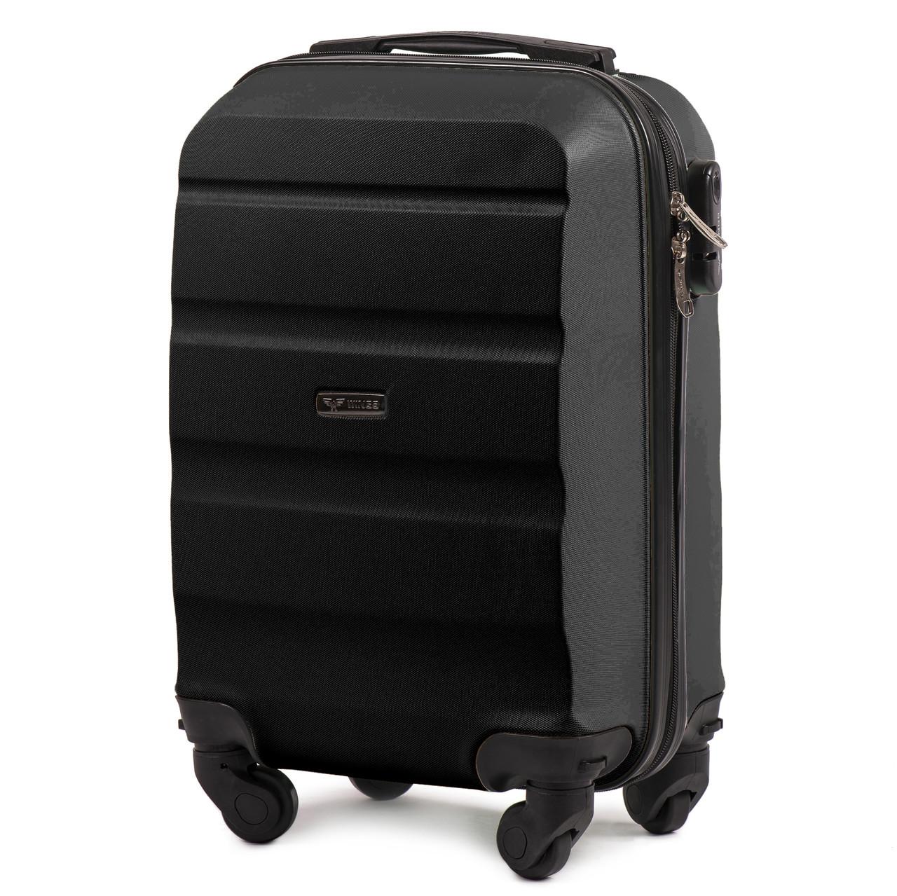 5db776002f4f Чемодан Wings AT01 мини ручная кладь на 4 колесах Черный - Bag Travel Box в  Одессе