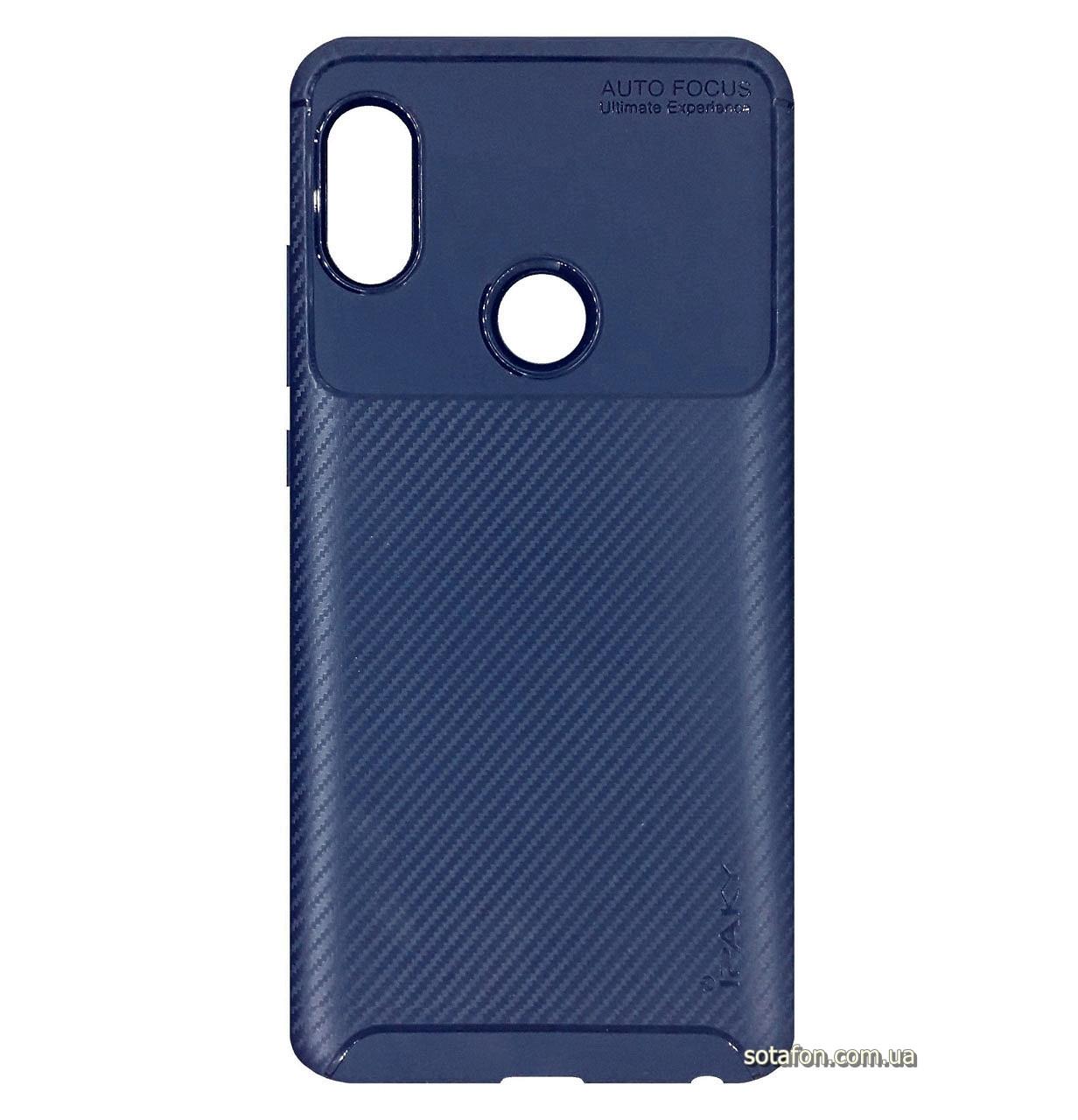 Противоударный TPU чехол iPaky Kaisy Series для Xiaomi Redmi Note 5 Pro / Note 5 (AI DC) Dark Blue