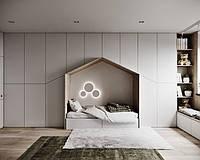 Детская комната домик с встроенным шкафом D-009, фото 1
