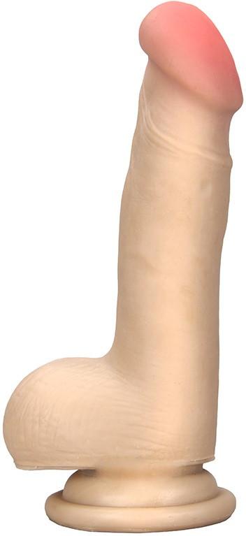 Вибратор на присоске FleshX 6.5 Vibrator I, телесный