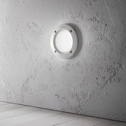 Светильник настенный Ideal Lux LETI ROUND FI1 GRIGIO (096568)