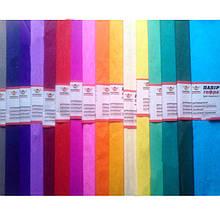 Гофрированная бумага (гофробумага) Мандарин